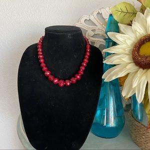 White House Black Market Beaded Necklace